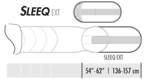Extension Kit f. SLEEQ Sizing Chart
